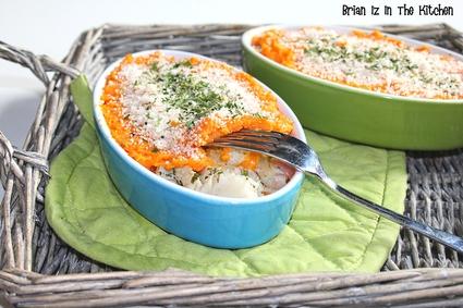 Recette de brandade de cabillaud carottes et patates douces