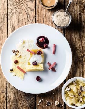 Mousse chocolat blanc-gingembre pour 4 personnes