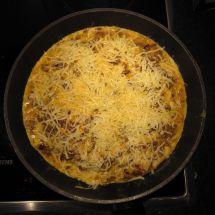 Omelette au gouda