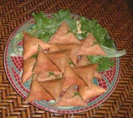Recette de samoussas végétariens aux épices