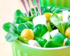 Salade de mâche aux olives et à la feta   cuisine az