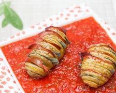 Recette pommes de terre à la suédoise au bacon et tomates