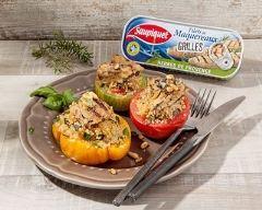 Recette tomates farcies au quinoa et filets de maquereaux aux ...