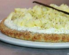 Recette gâteau léger à l'ananas, coco et vanille