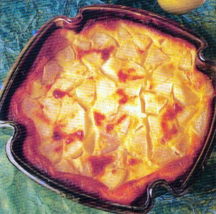 Recette de clafoutis moelleux aux poires