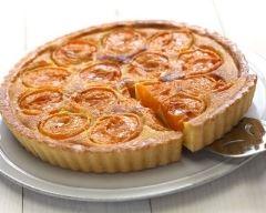 Recette tarte normande aux abricots