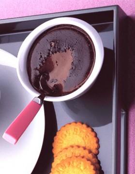 Petits pots de crème au chocolat pour 4 personnes