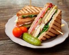 Recette club sandwich fait maison