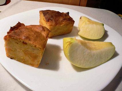 Recette de moelleux aux pommes et aux patates douces