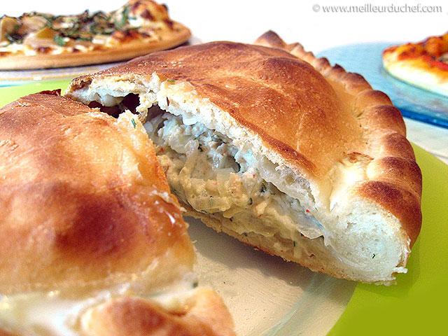 Calzone au crabe  fiche recette avec photos  meilleurduchef.com