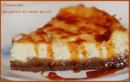 Recette de cheesecake au yaourt et vache qui rit