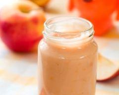 Recette compote de pommes, poires et vanille