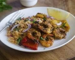 Recette crevettes à l'ail au piment et au citron vert