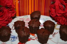Mini moelleux au chocolat pour 12 personnes