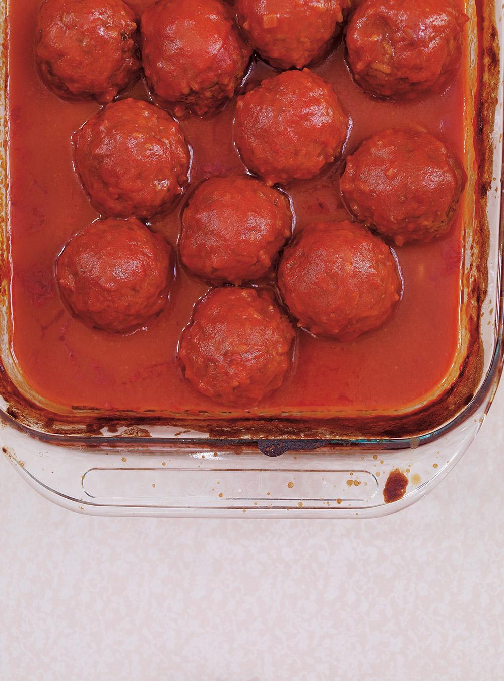 Sauce tomate aux boulettes de viande | ricardo