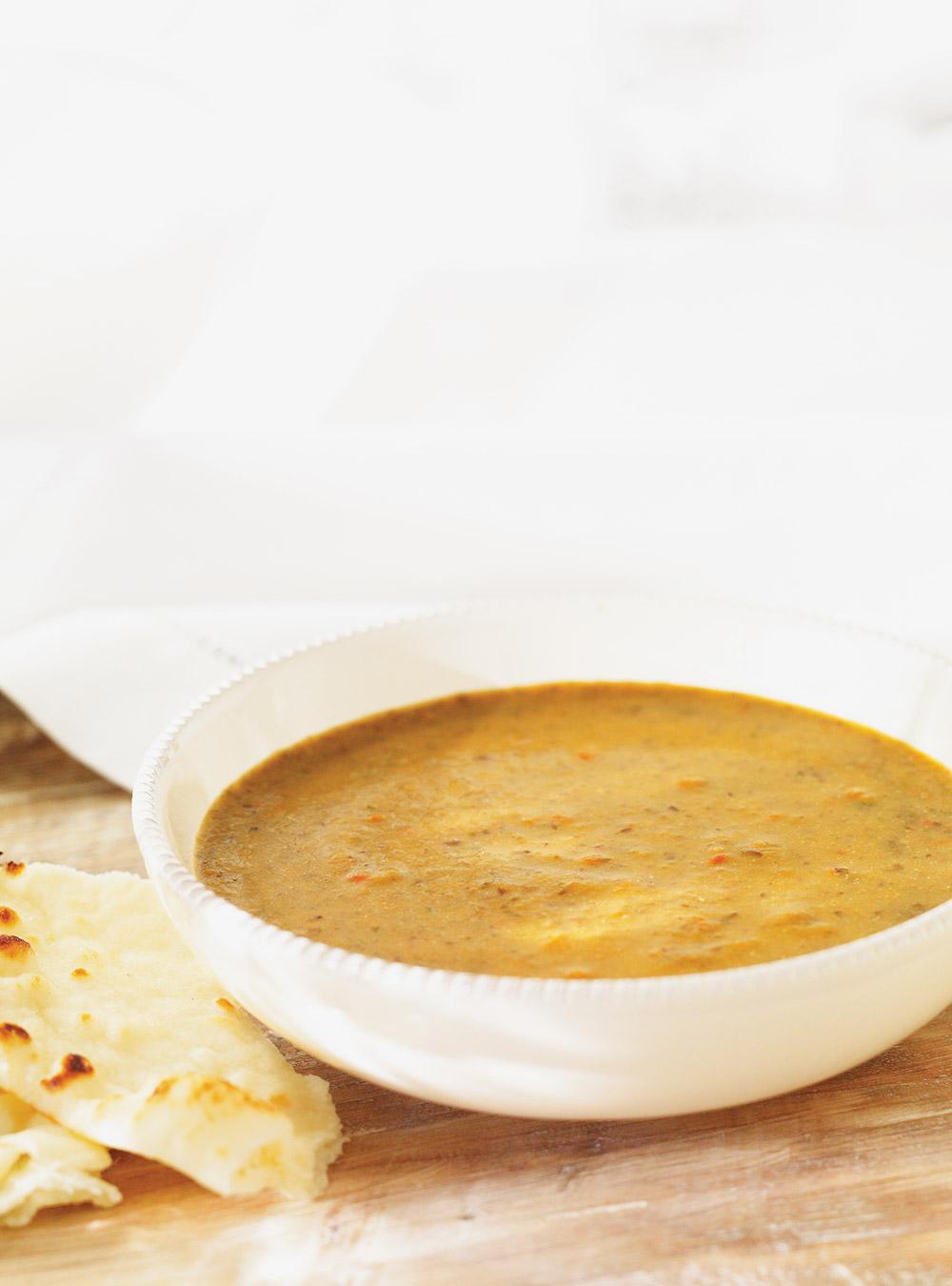 Crème de lentilles aux légumes | ricardo