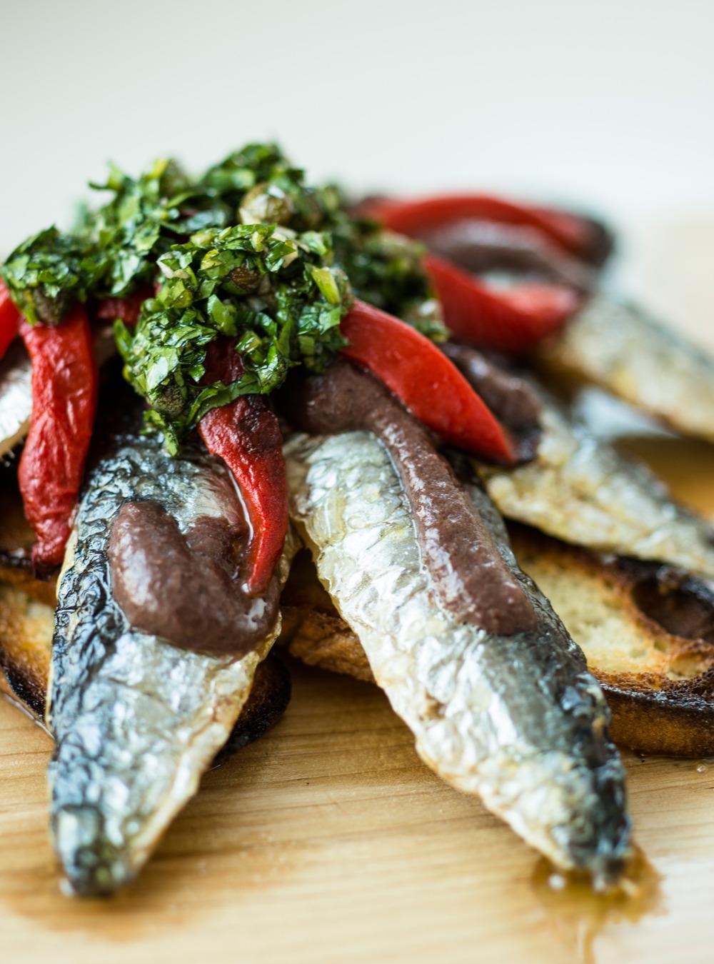 Filets de sardine grillés d'helena loureiro | ricardo