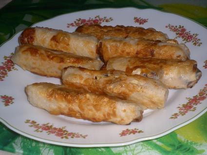 Recette de nems poulet, coco, citron vert et pâte de curry