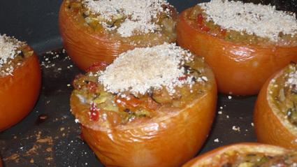 Recette de tomates farcies végétaliennes