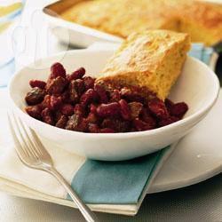 Recette chili con carne et pain de maïs – toutes les recettes ...