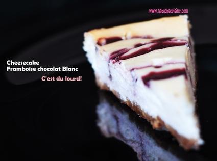 Recette de cheesecake à la framboise