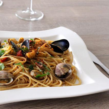 Recette de spaghetti vongola et moules