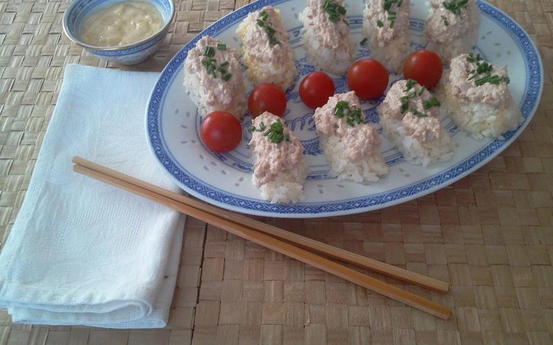 Recette riz thon et mayo,façon sushis pas chère et express ...