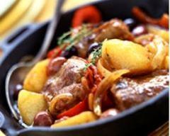 Recette tajine d'agneau aux pommes de terre