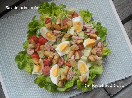 Recette de salade de fèves, tomates cerise et thon