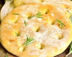 Recette fougasse au romarin et parmesan
