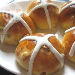 Recette hot cross buns de julia (brioches irlandaises) – toutes les ...