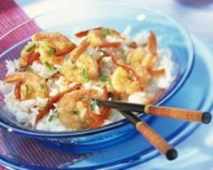 Crevettes sautées aux poivrons | cuisine az