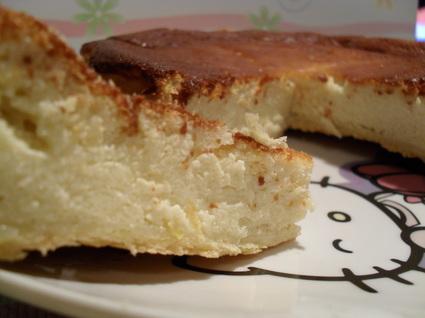 Recette de gâteau au fromage blanc au citron et semoule