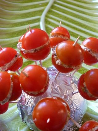 Recette de sucettes tomate fraicheur