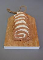 Recette de gâteau roulé au cacao et à la noix de coco {sans gluten ...