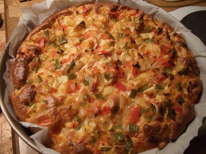 Recette de tarte fondante de légumes