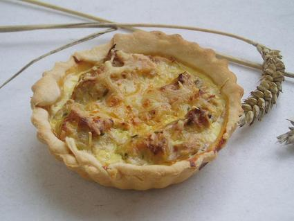 Recette de tartelette au thon, brousse et moutarde