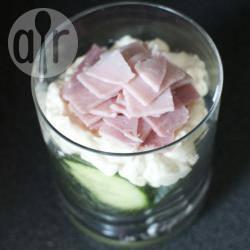 Recette verrine jambon fromage concombre – toutes les recettes ...