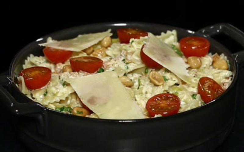 Recette pâtes au crabe économique > cuisine étudiant