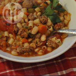 Recette minestrone à la saucisse – toutes les recettes allrecipes