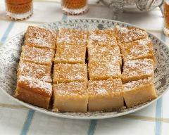 Recette cake au fromage blanc à l'orientale