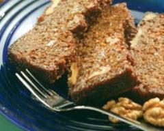 Recette cake aux carottes et aux noix