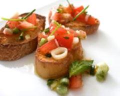 Recette salade de tomates à l'italienne