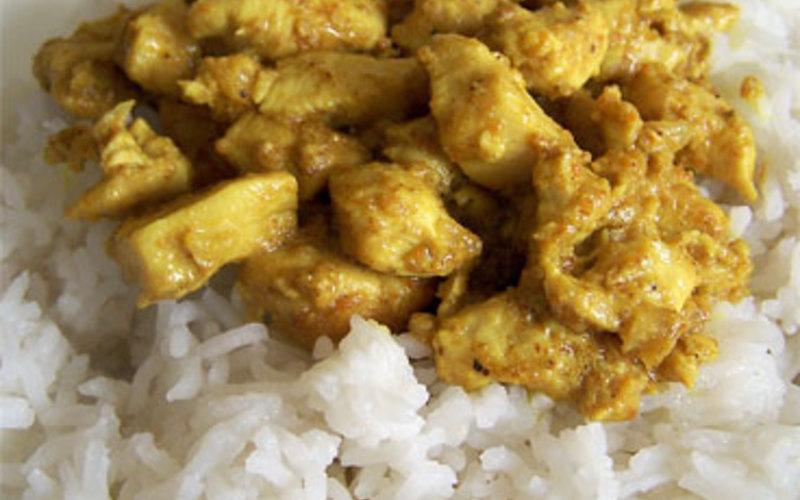 Recette poulet au curry pas chère et simple > cuisine étudiant