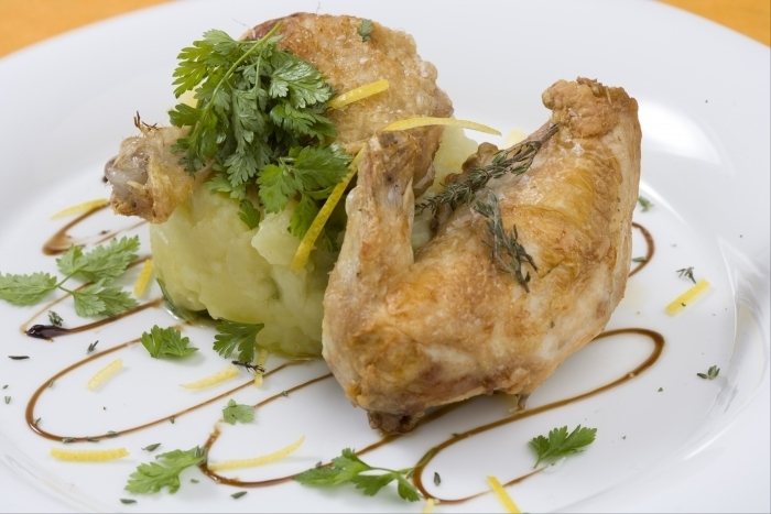 Recette de coquelet grillé huile d'olive citron et fleur de thym ...