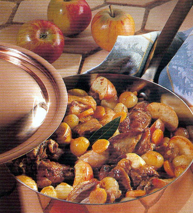 Recette de navarin d'agneau aux pommes fruits