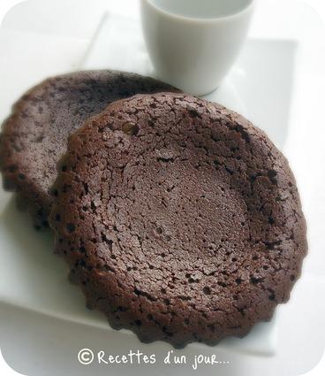 Recette de biscuits coulants au chocolat