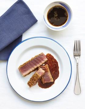 Tataki de thon aux épices et sésame pour 4 personnes