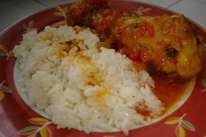 Recette de poulet au safran