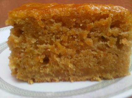 Recette de cake aux carottes et à la canelle